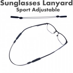 Sports strap for glasses