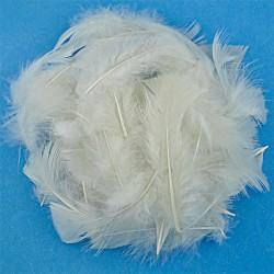 Marabou - White (natural)