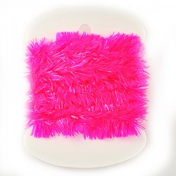 Crystal Chenille - Fluo Pink
